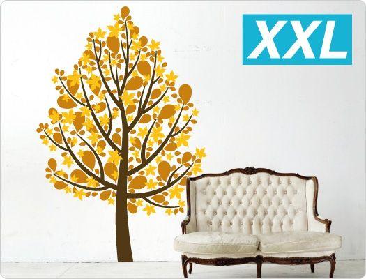 Beautiful Wandtattoo Baum dreifarbig Nr Mehr