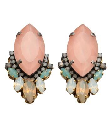 Erickson Beamon Swarovski Crystal Cluster Earrings - Available Now on #ShopBAZAAR