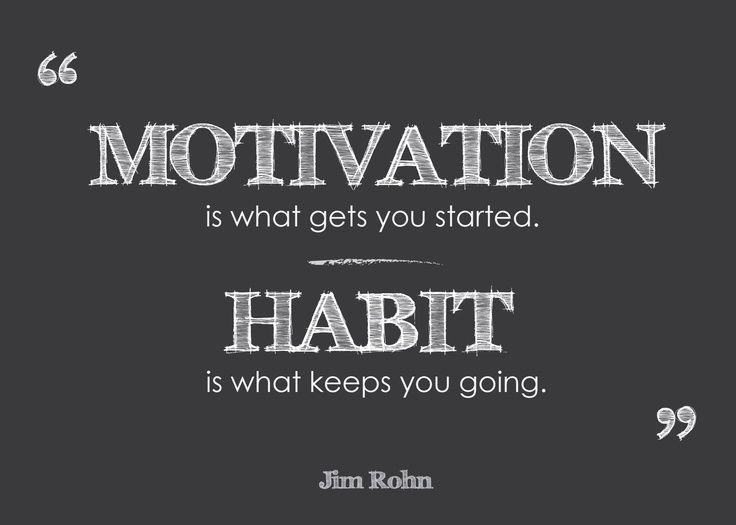 Nous sommes le résultat de nos habitudes. Changer une habitude demande de la méthode et des efforts, mais c'est tout à fait possible. Savoir en construire de nouvelles est un outil précieux pour progresser.
