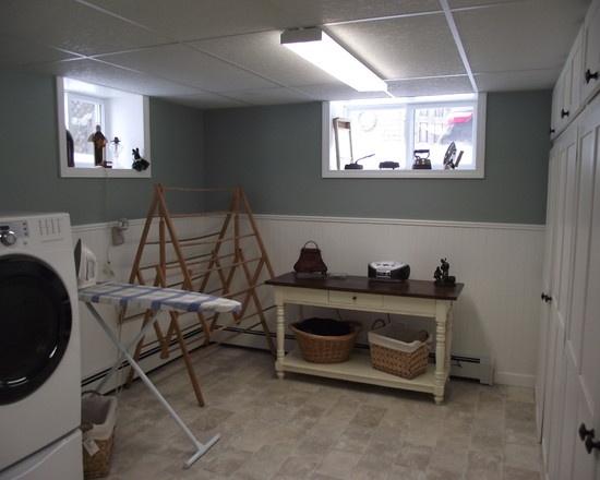 Basement Laundry Room Makeover Ideas Decor 31 best laundry room images on pinterest | diy, builder grade