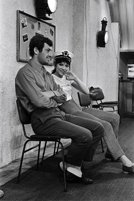 Jean Paul Belmondo and  Anna Karina