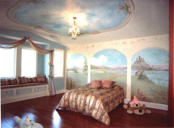 Murals For Walls best 25+ castle mural ideas on pinterest | princess mural