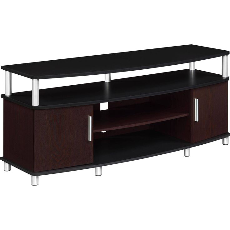 Living Room Altra Furniture Carson TV Stand Up To 50 Inches Black Cherry New