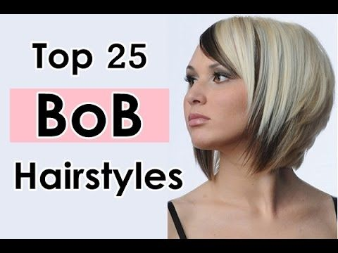 Bob Hairstyles For Long Short Thick Thin Round Faces