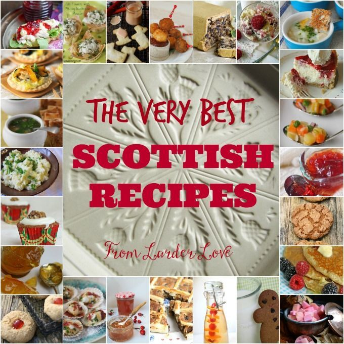 Scottish dessert recipes easy