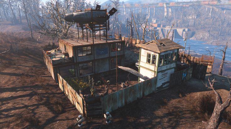 fallout 4 how to build a treehouse