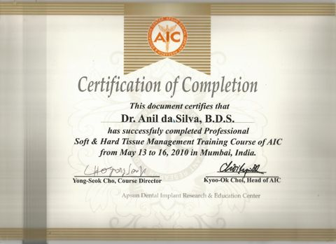 Professional Soft and hard tissue  management trainning