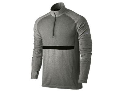 Nike Dri-FIT Knit Long-Sleeve Half-Zip Men's Running Shirt - £65