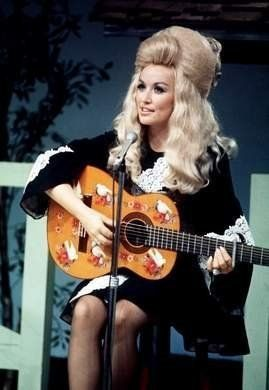 you can't go wrong if you look like dolly parton on your wedding day. // amen! :)