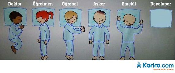 Biraz #gülerek güne başlayalım dedik... Herkese #günaydın ! #Bilişim uzmanları pek uyumaz, çoğunlukla zamanları #bilgisayar başındadır...Su uyur #teknoloji uyumaz diyoruz !