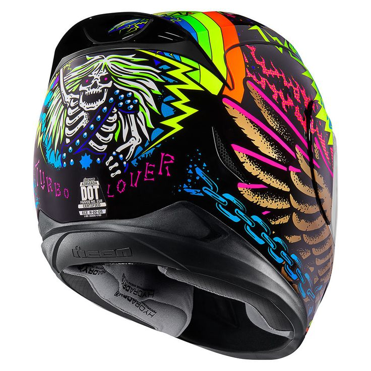 TL Black Helmets Icon Motosports Ride Among Us