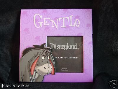 "Eeyore ""Gentle"" Magnetic Picture Frame Winnie the Pooh  Disney Parks #DisneyParksExclusive #PictureFrames"