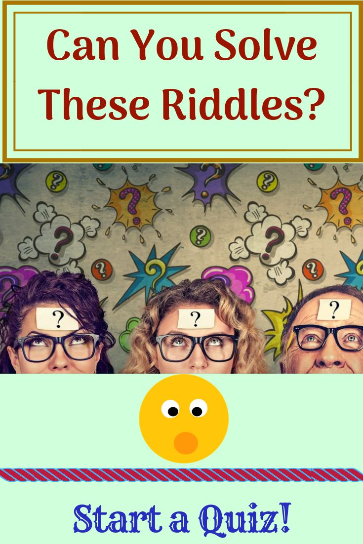 Can You Solve These Riddles? Riddles, Funny jokes, Solving