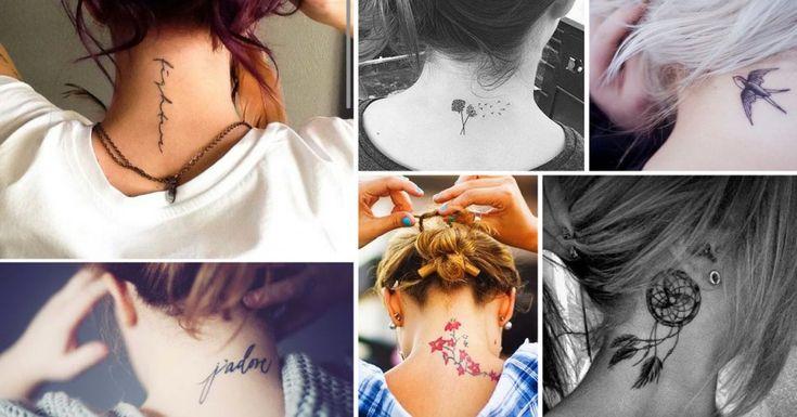 Tatoeages are always in style. Ontdek hier onze favoriete nek tatoeages.