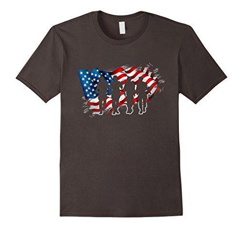 Soldier Patriotic American Flag Gift Tee Shirt Independence 4th of July American Flag T-Shirt  #American #Flag #Gift #Independence #July #Patriotic #Shirt #Soldier #Tshirt TshirtPix.com