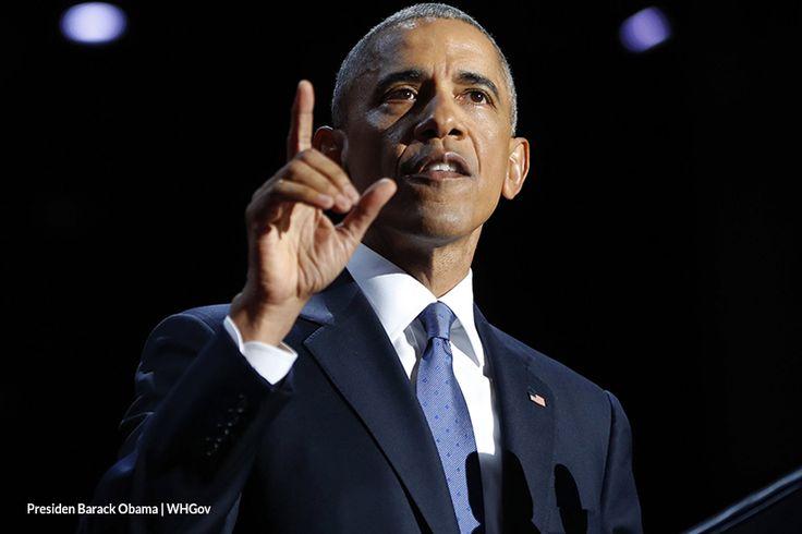 AkarpadiNews | Jiwa Obama dalam Pidato Perpisahannya