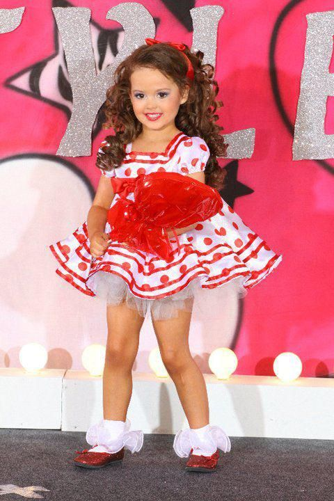 Elements Of Glitz Pageantry Dance For Kenzie Baby