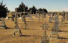 Holy Cross Cemetery - Pfeifer, Kansas- Volga German (Germans from Russia)