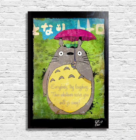 My Neighbor Totoro by Hayao Miyazaki Studio Ghibli  Original