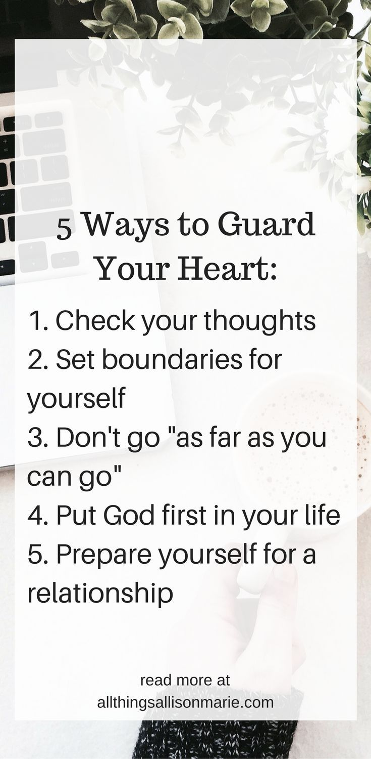 Guarding your heart in dating
