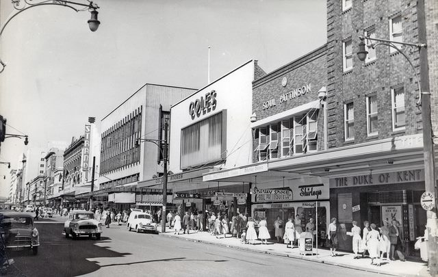 Newcastle my childhood town in the 50's