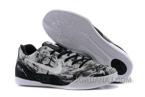 http://www.jordanaj.com/mens-nike-kobe-9-grey-black-white.html MEN'S NIKE KOBE 9 GREY BLACK WHITE CHRISTMAS DEALS Only $95.00 , Free Shipping!