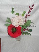 Сахарные цветы, фигурки из мастики или марципана( мои работы) (страница 2) : фотографии Разное