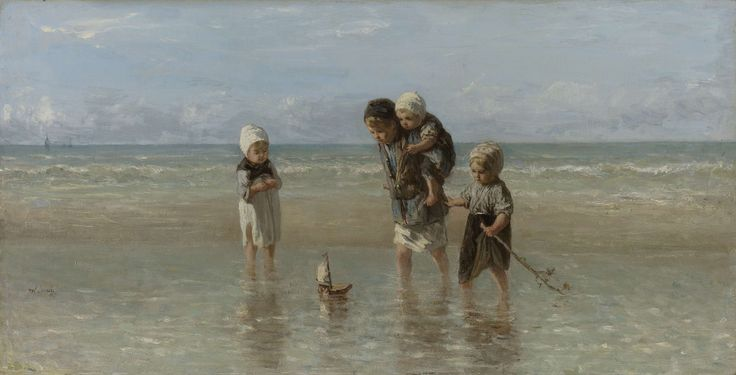 Children of the Sea, Jozef Isra�ls, 1872