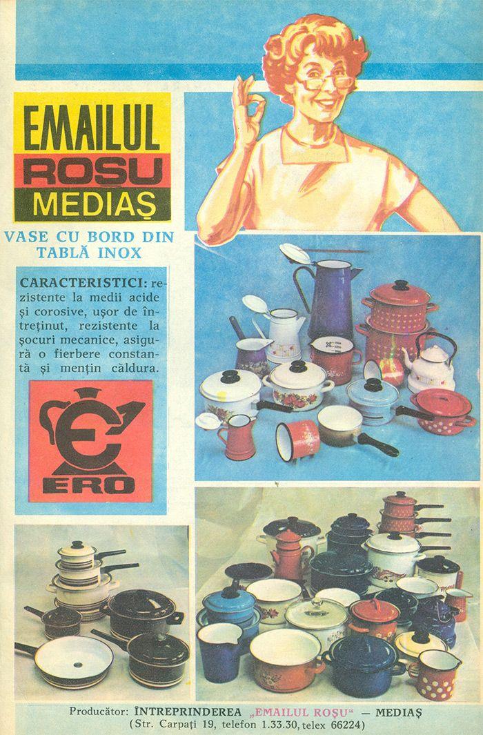 Reclama Emailul Rosu Medias - #retro #advertising #romania #medias