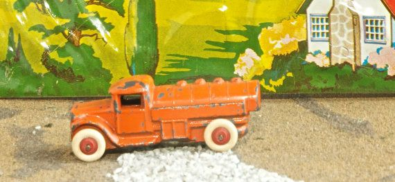 Vintage Barclay Toy Tanker Gas Delivery Truck, Circa 1935