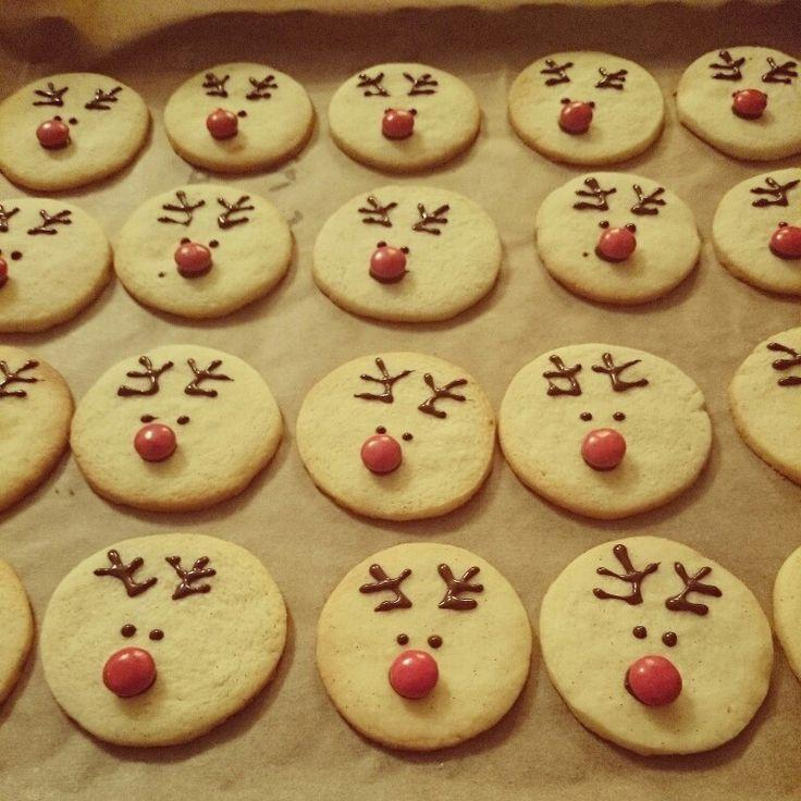 Rudolf cookies