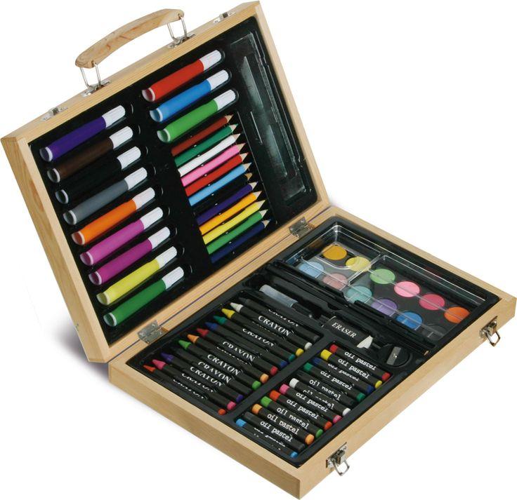 Cartellin con set di colori per disegno. Acquistala subito su gecoshopping.