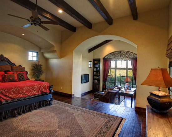 17 best images about mediterranean decor on pinterest for Mediterranean master bedroom ideas