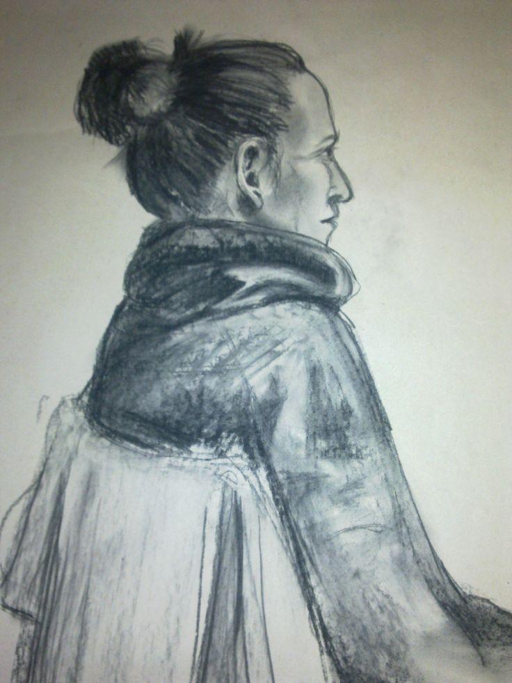 Portrét, uhel