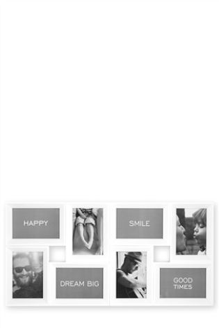 White 8 Aperture Gloss Collage Frames