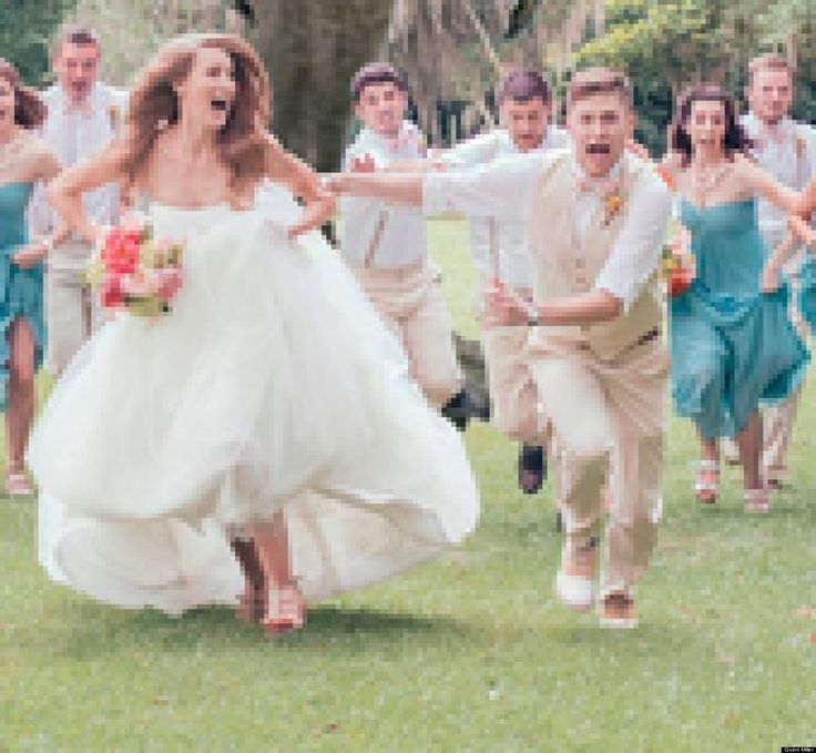 If there was a wedding in Jurassic Park, we imagine it would look something like this.