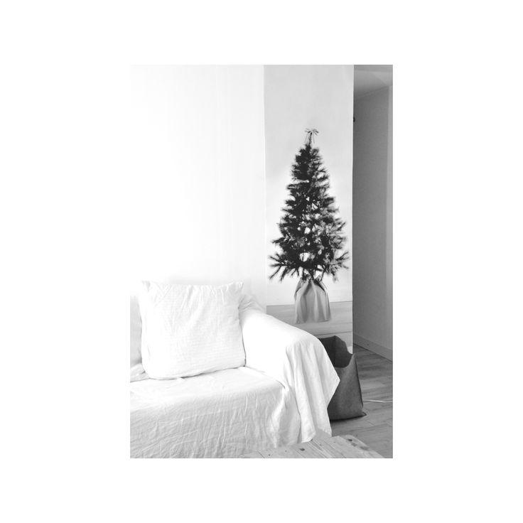 78 best images about deco de noel on pinterest - Sapin de noel noir et blanc ...