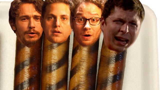 Seth Rogen invites his usual sausage party to his Sausage Party.