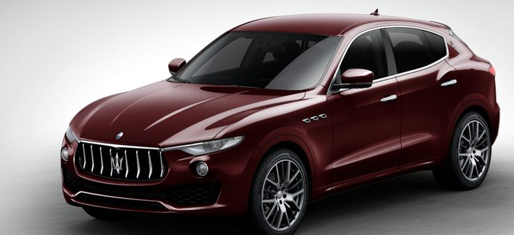 Maserati Levante SUV Red