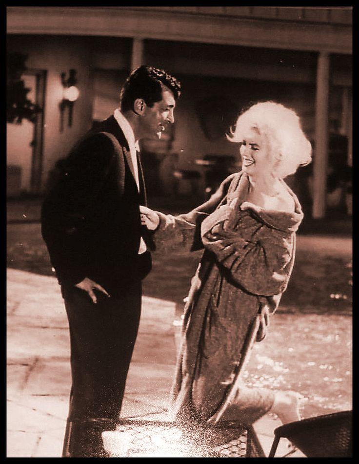 Marilyn Monroe 1962 ! DEAN MARTIN....
