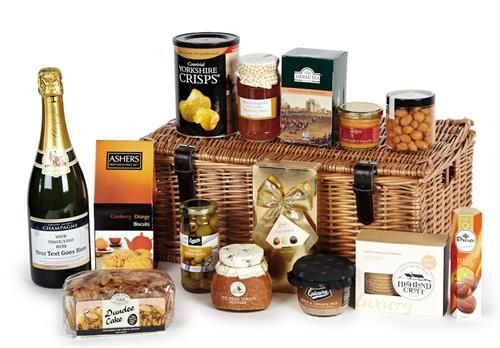 Ideas For Containers For Food Hamper