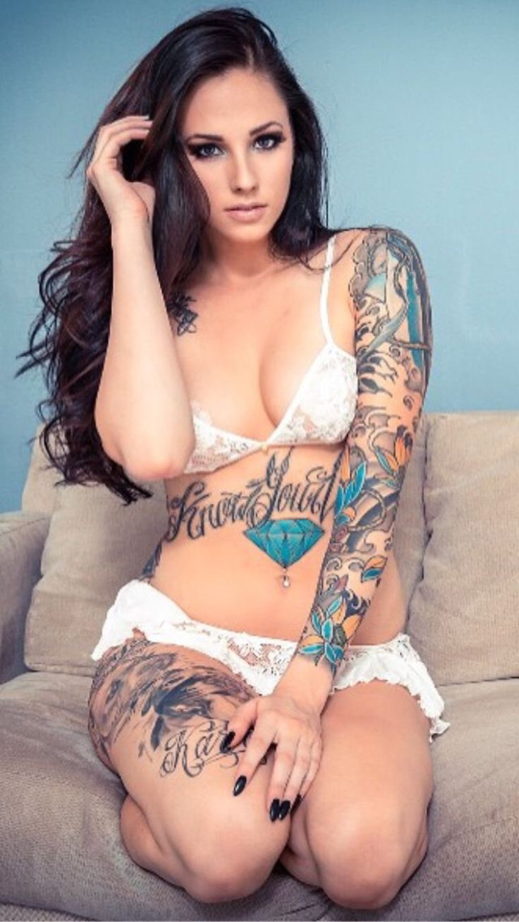394 Best Hot Chicks With Tats Images On Pinterest  Tattoo -7504