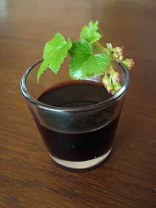 Recette - Vin de cassis | 750g.   Recipe for blackcurrant wine