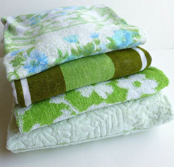 Mint Green Bath Towels Custom 50 Best Vintage Bath Towels Images On Pinterest  Bath Towels Design Decoration