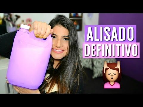 ALISA tu CABELLO de forma PERMANENTE con esta simple RECETA. - YouTube