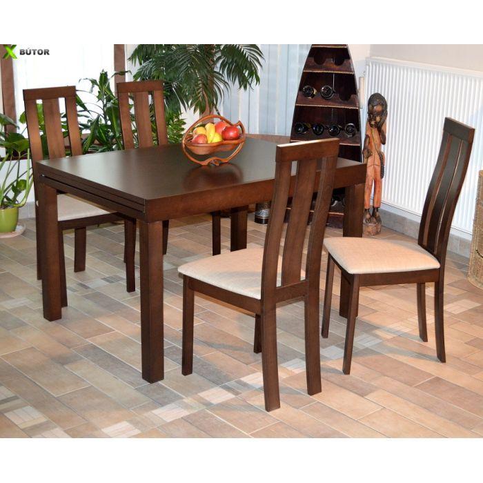 Étkezők, asztalok, székek : Stella modern étkezőgarnitúra - modern asztal + 4 szék RAKTÁRON