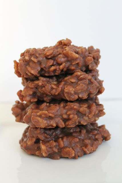 fudgy no-bake cookie recipe