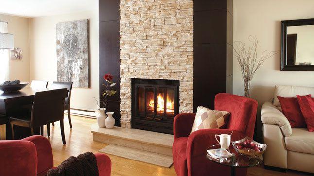 Foyer Logement De Menetou Salon : Les meilleures images concernant foyer en pierre sur