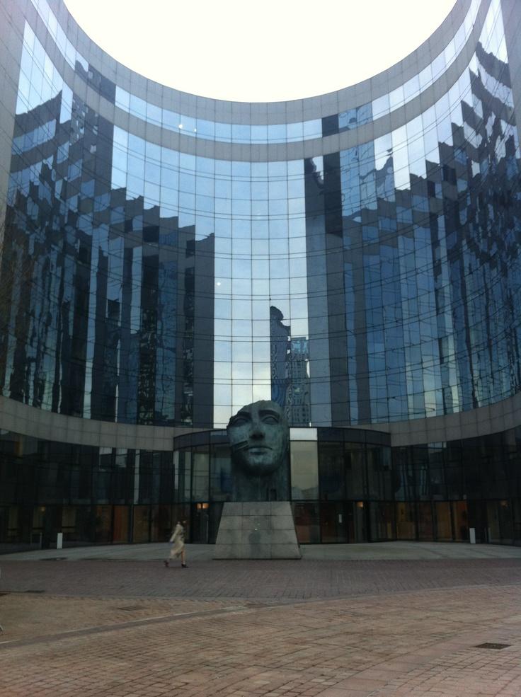 La défense 1er quartier d'affaires européen.
