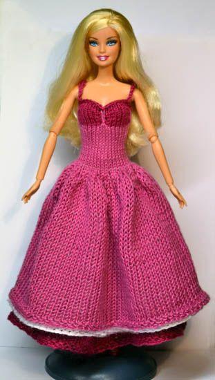 44 Best Knitting Images On Pinterest Barbie Knitting Patterns